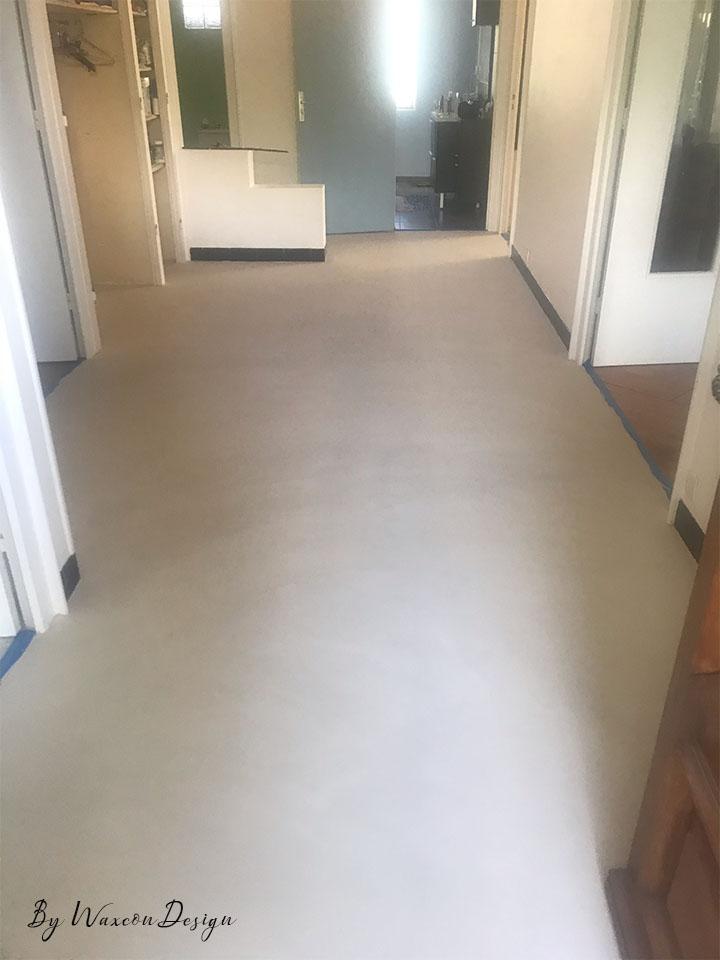 renovation carrelage beton cire apres