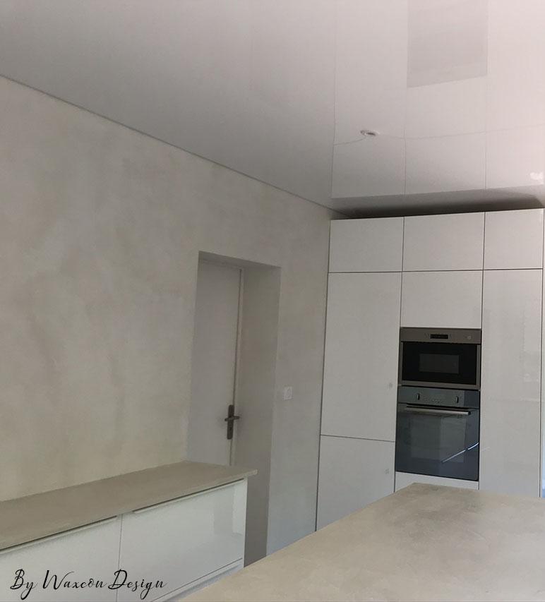 renovation de cuisine ancien carrelage beton cire everest