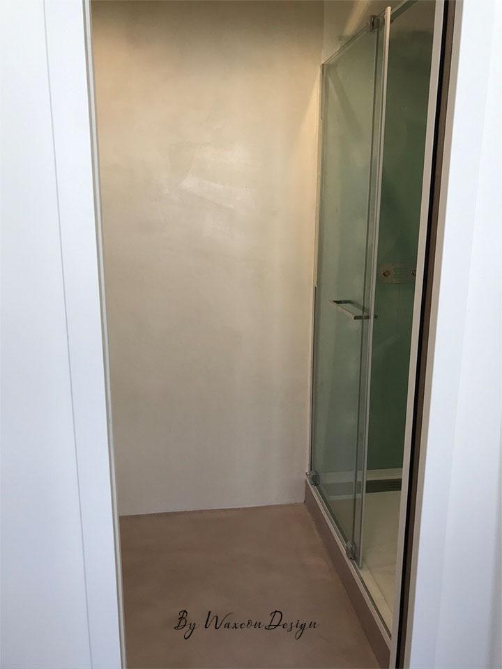 salle d eau en beton cire
