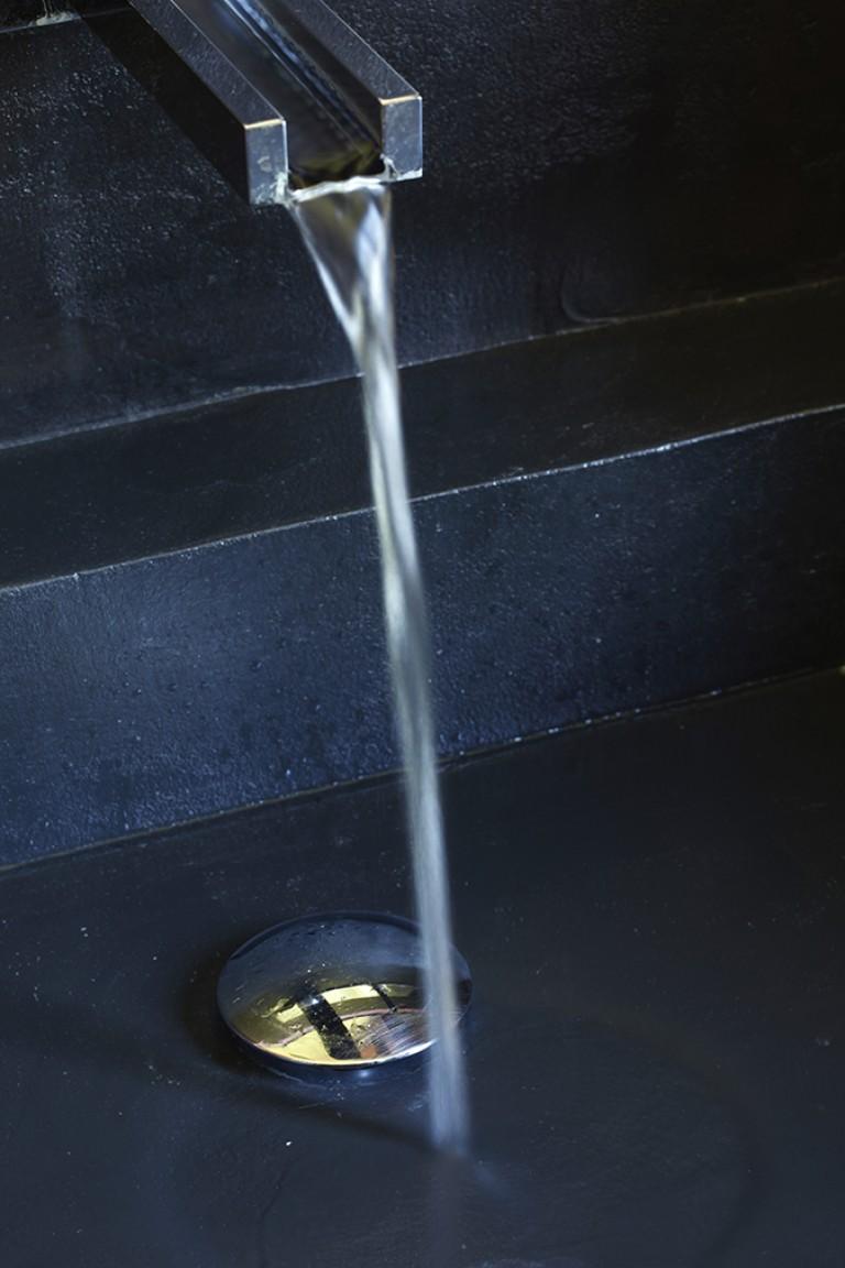 vasque beton cire ardoise